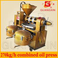Buy cheap biodiesel oil press machine automatic temperature controlled multi function oil expeller from wholesalers