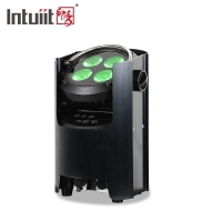Buy cheap 4pcs 12W Battery Powered Wireless LED Disco Light For Party Event from wholesalers
