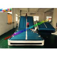 Buy cheap Customized Gym Inflatable Air Track , Inflatable Gymnastics Air Floor With Air Ramp from wholesalers