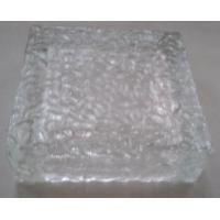 Buy cheap 10 x10cm Crystal Ice Glass Flickering LED Bricks Solar Light used as solar garden Light, L from wholesalers