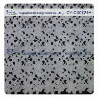 Buy cheap Thick Polyester Charming Allover Fabric Chemical Lace For Lady Garment from wholesalers