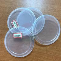 Buy cheap 83mm 99mm Paper Cans Pet Cans Clear Plastic Lids for Canned Food from wholesalers