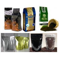 Buy cheap PET / AL / PE Coffee Valve Foil Bag Packaging Durable with Hang Hole from wholesalers