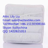 Buy cheap white 100% cotton face towel for airline passenger from wholesalers