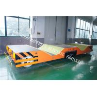 Buy cheap 30000kg Load W Shape Automatic Guided Carts Laser Detection Technology from wholesalers