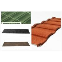 Buy cheap Lightweight Metal Roof Tiles , durable steel Roman roofing tiles from wholesalers
