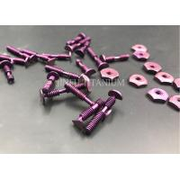 Buy cheap Lathe Machine Made Non Standard Fasteners ,  Grade 5 Titanium Medical Screws from wholesalers