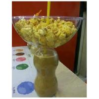 Buy cheap 400ml Plastic Disposable Smoothie Cups Bottle With Popcorn Bowl from wholesalers