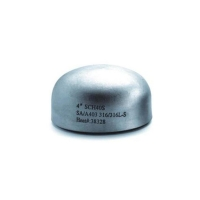 Buy cheap Factory supply DIN steel tubing end cap stainless steel pipe fittings cap from wholesalers