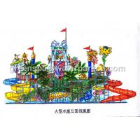 Buy cheap Kids Water Park Equipment / Water Park Games For Swimming Pool Water Park from wholesalers