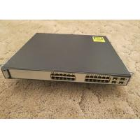 Buy cheap Refurbished Used Catalyst Switch 10/100/1000T POE 4 SFP Std Image WS-C3750G-24PS-S product