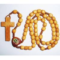 Buy cheap Catholic Rosary/Religious Jewelry/Wooden Necklace from wholesalers