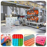 Buy cheap New design High technolody, factory and house used plastic PVC roof tile making machine product