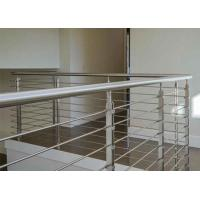 Buy cheap Solid Rod Bar Stainless Steel Railing Hollow Tube Round / Square Shape Post from wholesalers