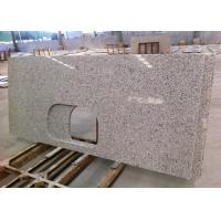 White Granite Kitchen Countertops High Polish For Apartments , SGS / CE Listed
