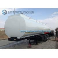 Buy cheap Heavy Duty Elliptical 4 Axle Oil Tank Trailer Container Semi Trailer from wholesalers