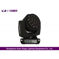 Buy cheap K10 Zoom Bee Eye Moving Head Led Lights 15w X 19pcs For Music Concerts from wholesalers