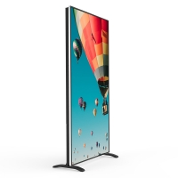 Buy cheap 85 Inch Android System Indoor Smart Advertising Media Players Floor Stand LED Poster Display from wholesalers