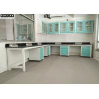 Buy cheap Food Industry Steel Lab Bench Reagent Rack Design Environmental Protection from wholesalers