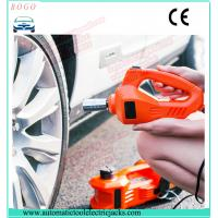 Buy cheap emergency tyre change tools 3 tons auto lift electric  jack with wrench and air compressor from wholesalers