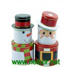 Buy cheap Christmas holiday tin box decorative tin box from wholesalers