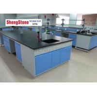 Buy cheap 16mm Thickness Black Epoxy Resin Countertop For Laboratory Wall Bench from wholesalers