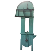 Buy cheap Carbon Steel Chain Type Bucket Elevator 800m3/h Conveying Hoisting Machine from wholesalers