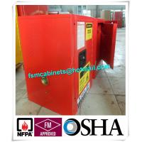 Buy cheap Flammable Hazmat Storage Locker , Chemical Storage Cupboards Waterproof from wholesalers