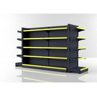 Buy cheap 5 Levels Commercial Gondola Shelving / Durable Grocery Display Shelves from wholesalers