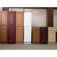 Buy cheap Solid Wood Kitchen Cabinet Door/Wooden Bath Cabinets /Furniture Factory Custom Service/Modular Kitchen Cabinets from wholesalers