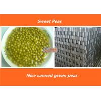 Buy cheap Steamed Organic Canned Vegetables Fresh Green Peas Normal Open Lid from wholesalers