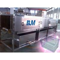 Buy cheap Industry Full Automatic Turnover Crate Washer With Mitsubishi PLC from wholesalers