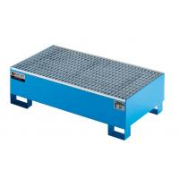 Buy cheap Galvanized Steel Spill Tray Sturdy Highly Durable For Storing / Filling Polluted product