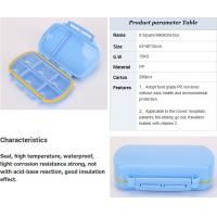 Buy cheap weekly 28 grids plastic medicine case for a drawer, Plastic triangle constitute pill bottle boxes medicine box travel pi from wholesalers