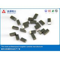 Buy cheap YG8X Tungsten Carbide Saw Tips Various type for stone cutting tools from wholesalers