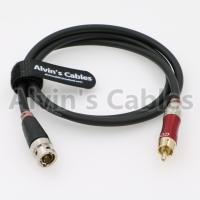 Buy cheap Digital audio cable (S/PDIF) between a music server DAC Neutrik BNC to phono from wholesalers