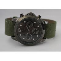Buy cheap Custom alloy quartz sport watch with moveable Fabric strap for men and women from wholesalers