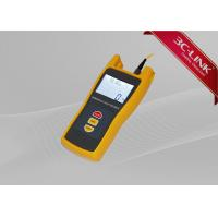Buy cheap Yellow Electronic Optical Light Source Fiber Optic Tester With Laser Source Work from wholesalers