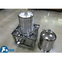 Buy cheap Carbon Filtration Plate And Frame Filter Of Vertical Stack Structure product