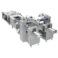 Buy cheap Servo Control Automatic Bread Packing Machinery Convenient Operation from wholesalers