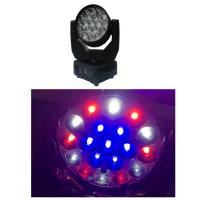 Buy cheap Mac Aura LED Zoom Moving Head Light With Eye Candy Effect / Pan Angle 540° from wholesalers