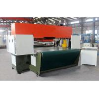 Buy cheap customized Shoes Making Hydraulic Traveling Head Cutting Machine Low Energy Consumption from wholesalers