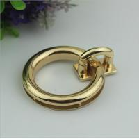 Buy cheap Wholesale high quality lady bag lock light gold metal twist turn decorative lock for bags from wholesalers