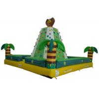 Buy cheap Funny Monkey Inflatable Rock Climbing Wall Challenging For Outdoor Activities from wholesalers