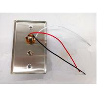 """Buy cheap Healthcare Stainless wall plate with 1/4"""" and coax socket product"""