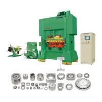 Buy cheap Punching line of straight side high speed automatic hydraulic press machine precision press from wholesalers