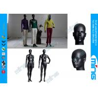 Buy cheap FRP Lifelike Full Body Female Mannequin , Glossy Black Mannequin Head from wholesalers
