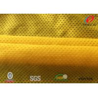Buy cheap Durable Breathable Sports Mesh Fabric For Soccer Uniforms / Shorts from wholesalers