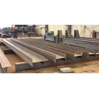 Buy cheap Welding Carbon Structural Steel H Beam Fabrication H-section Steel product