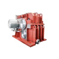 Buy cheap Parallel Shaft Mounted Speed Reducer Gearbox / Cast Steel Standard 90 Degree Gearbox from wholesalers